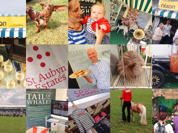 A grid of images from the Royal Cornwall Show.