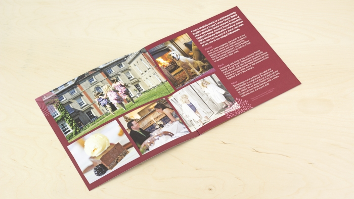 A double spread in the Luxury Family Hotels brochure.