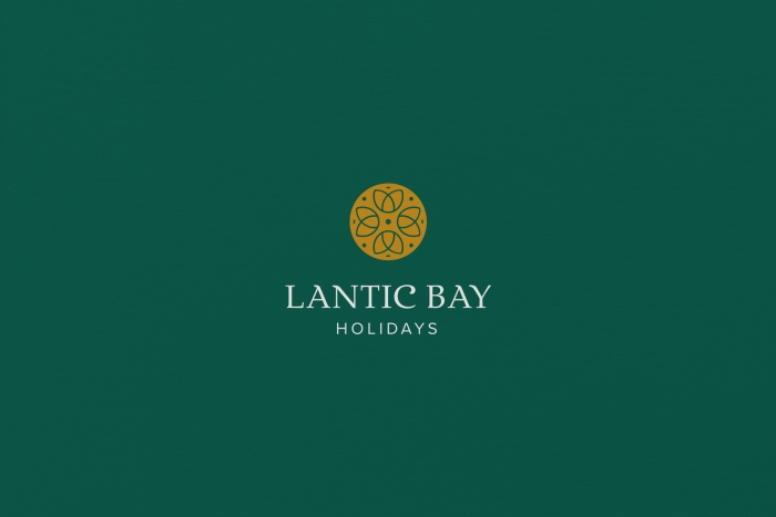 Unique brand image for Lantic Bay Holidays by Nixon Design Cornwall