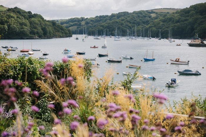 Photograph of Fowey for Lantic Bay Holidays website by Nixon Design