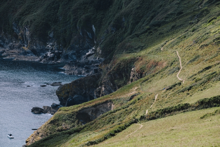 Fowey landscape photography for Lantic Bay website by Nixon Design