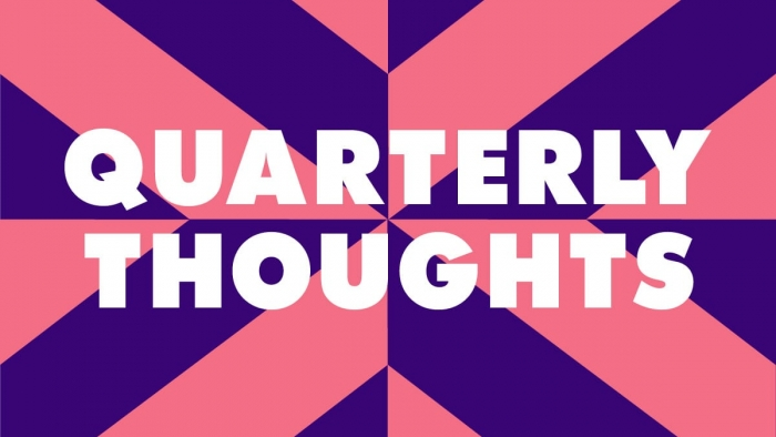 The quarterly thoughts graphic.