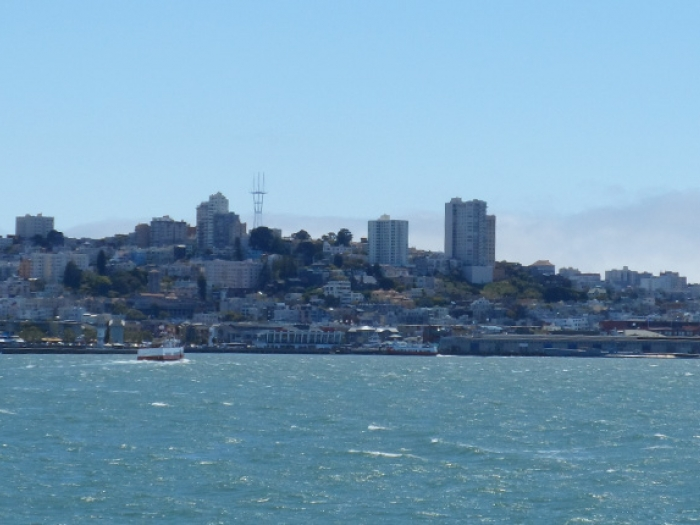 San Francisco Bay.
