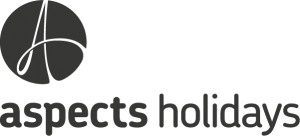 The Aspects Holidays logo.