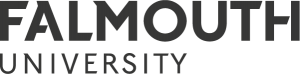 The Falmouth University logo.