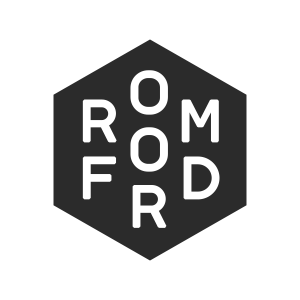 The Romford logo.
