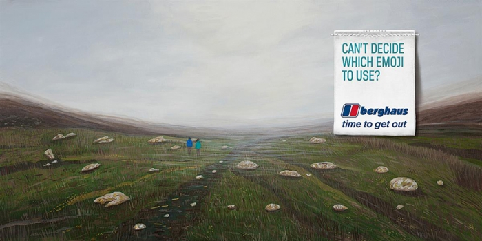 Billboard for Berghaus.