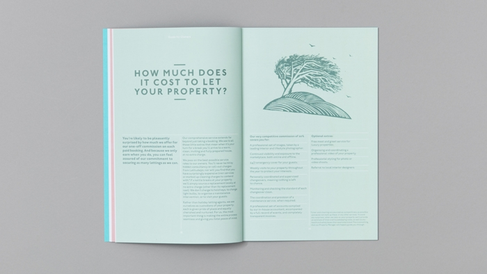 A spread on the cost of letting a property in the Latitude50 owners' guide.
