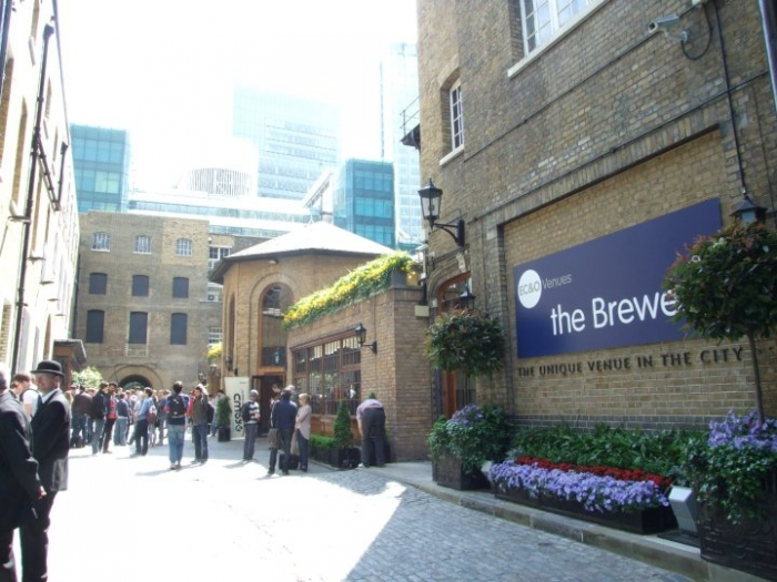 The Brewery, a venue in London.
