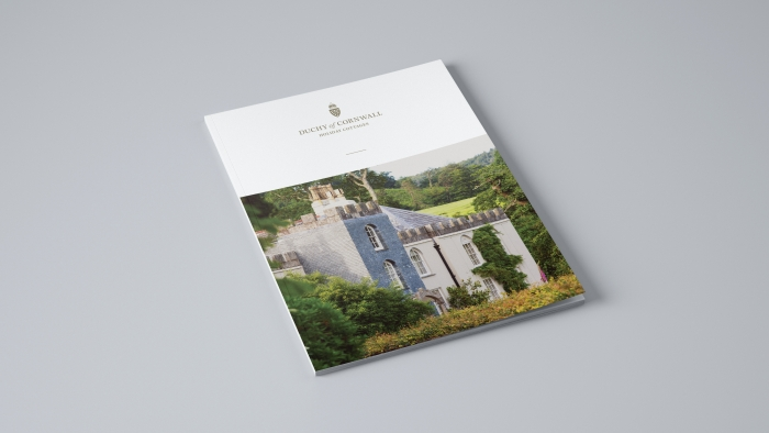 The Duchy of Cornwall Holiday Cottages property brochure cover.