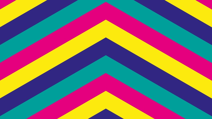 A colourful geometric pattern for Romford.