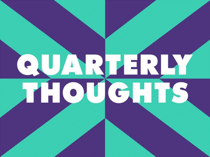 The quarterly thoughts logo for Nixon Design.