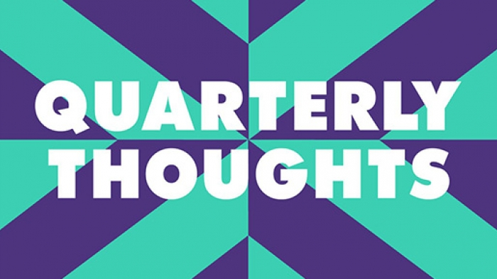 The Nixon Design quarterly thoughts logo.