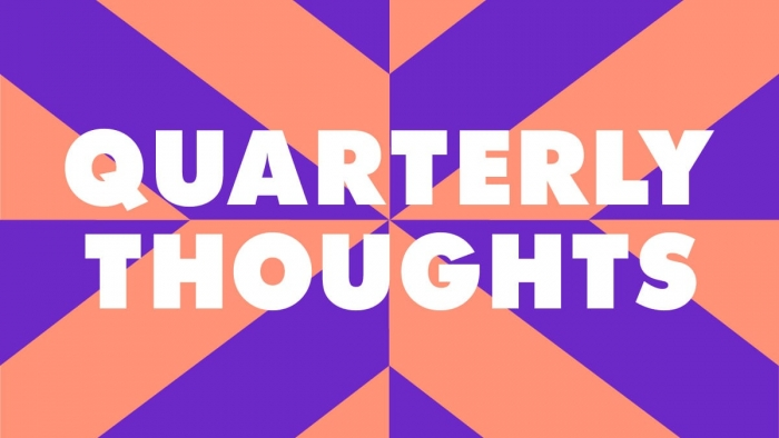 The Nixon Design Quarterly Thoughts graphic