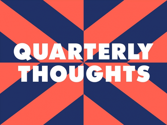 The quarterly thoughts logo for the Nixon Design blog.