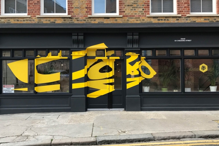 The exterior of D&AD; headquarters in London.