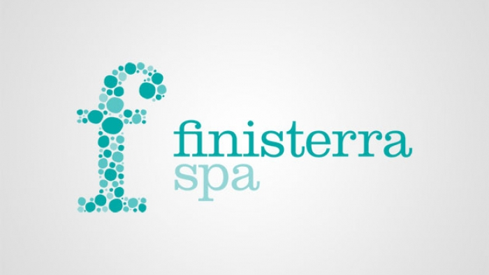 The logo for Finisterra Spa.