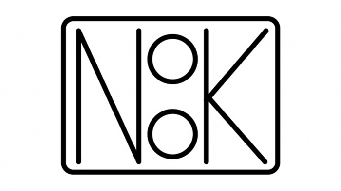 The NOOK logo, designed by Jasmine Munn