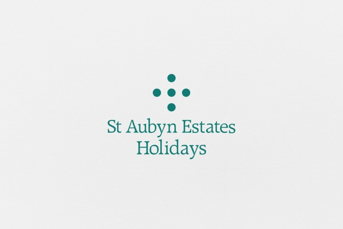 The St Aubyn Estates Holidays logo and word mark.