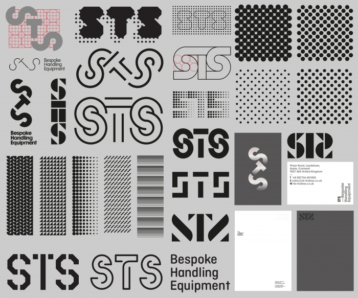 Unused logo concepts for STS.