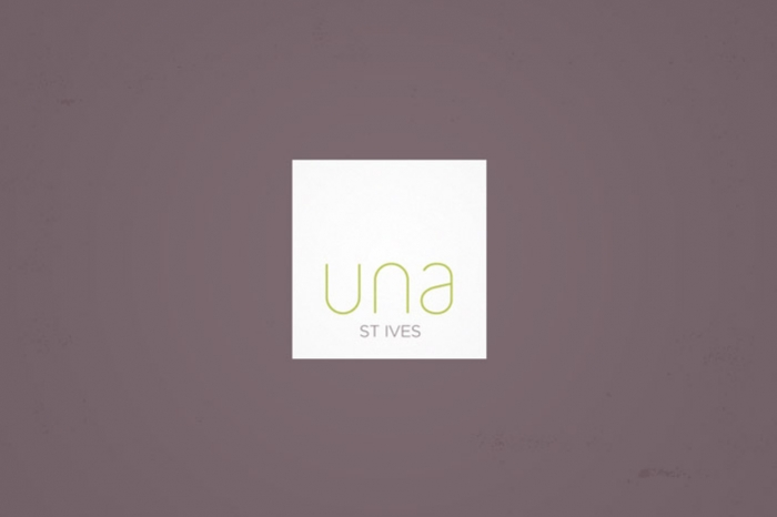 The Una St Ives logo.